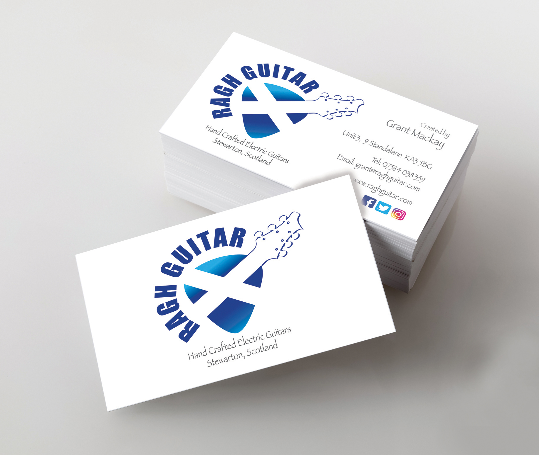 Premium silk double sided business cards the print room ayrshire photo of business cards template for branding identity isolated with clipping path reheart Images