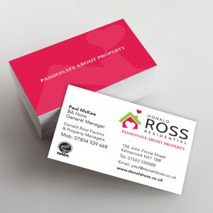 Matt or Gloss Lamination Business Cards double sided