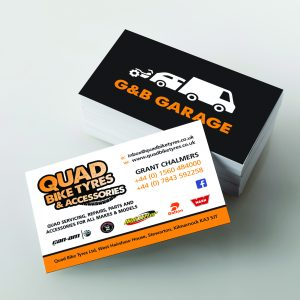 Matt or Gloss Lamination Business Cards Single sided