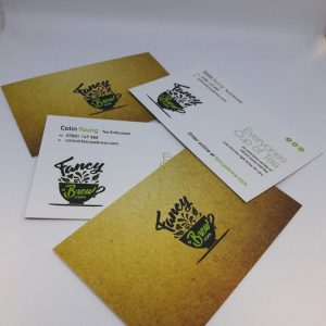 Soft Touch Velvet Single Sided Business Cards